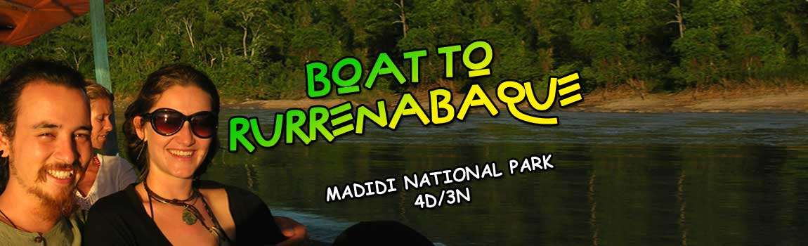 Boat to Rurrenabaque-Jungle Tour-Madidi National Park 4d/3n