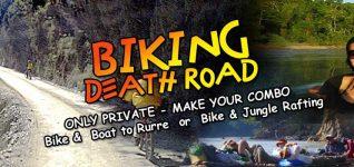Biking Private – Combo Bike & Boat or Bike & Jungle Rafting